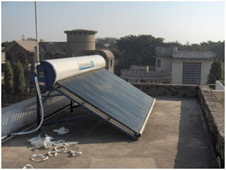 My solar water heater