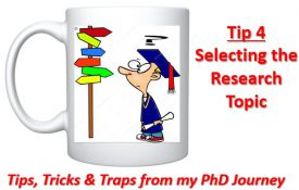 Cross-Eyed PhD: Tip 4- The Research Topic