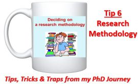 Cross-eyed PhD: Tip 6 Research Methodology