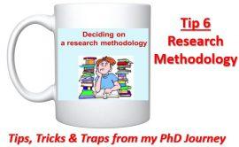 Cross-eyed PhD: Tip 6 Research Methodology