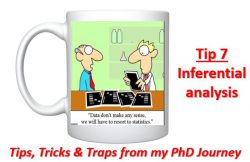 Cross-eyed PhD: Tip 7 Analyzing the Data-Inferential Statistics