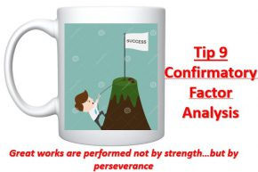 Cross-Eyed PhD: Tip 9 Confirmatory Factor Analysis