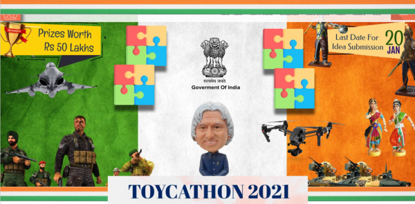 Design-to-Device-to-Child's Delight: TOYCATHON'21